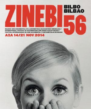Cartel festival Zinebi 56 Bilbao