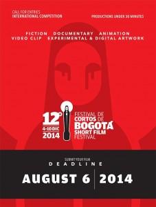 Festival De Cortos De Bogotá - BOGOSHORTS 2014