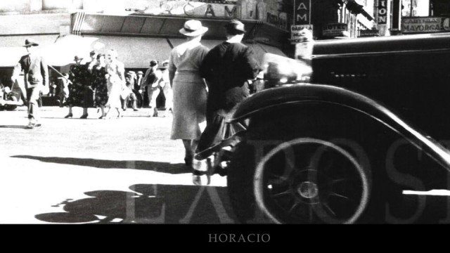THE CITY LIVING OF HORACIO COPPOLA