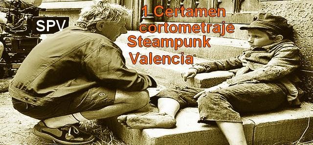 Convocatoria 1er Certamen de Cortometrajes de Steampunk Valencia