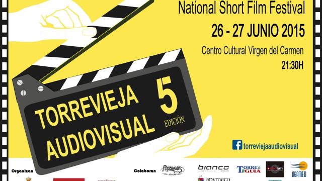 Convocatoria Torrevieja Audiovisual 2015, Certamen Nacional de Cortometrajes 5ª Edición